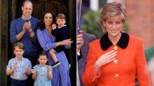 Prince William's Children Make Cards Remembering 'Granny' Princess Diana for U.K. Mother's Day
