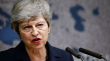 'What?' Former UK PM May shocked by minister's Brexit remark on security