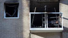 Quince heridos, 4 de ellos graves, en el incendio de un piso en Barcelona
