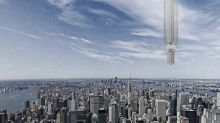 Plan to hang 'world's tallest' skyscraper from asteroid orbiting Earth unveiled