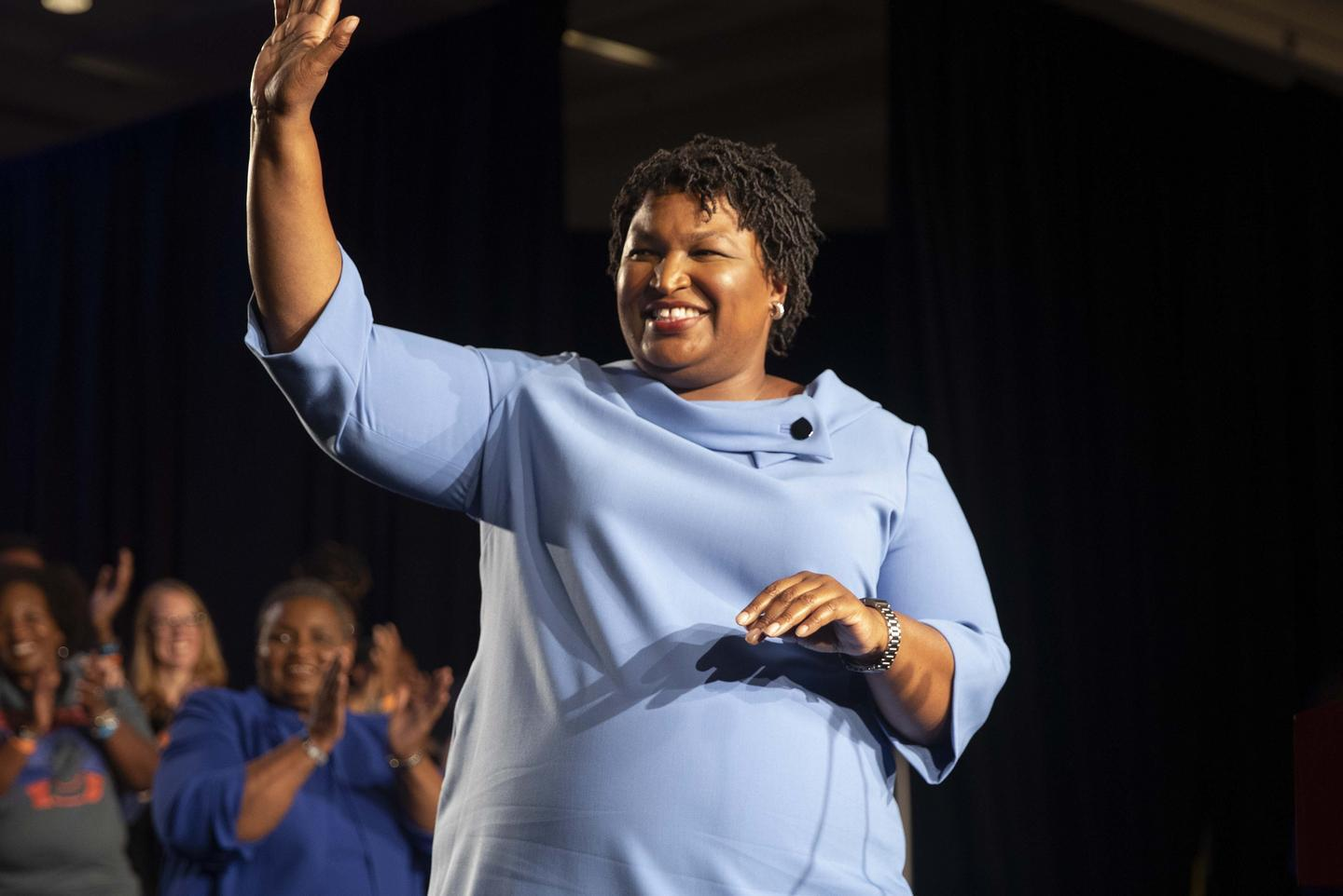 News post image: Report: Stacey Abrams to produce a CBS TV drama based on one of her novels