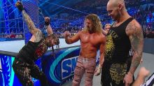 WWE SmackDown Results: King Corbin, Dolph Ziggler handcuff Roman Reigns to the ring post in humiliating attack