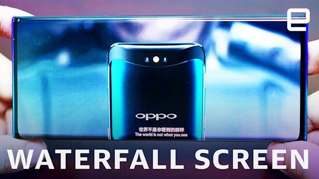 Oppo eliminates side bezels with its 'waterfall screen'