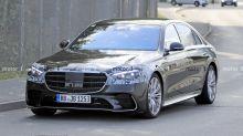Mercedes S-Klasse W223: Neuer Erlkönig hat kaum noch Tarnung über