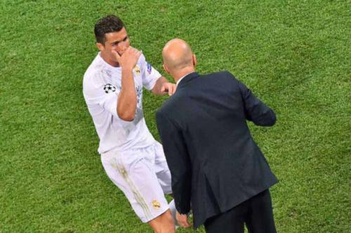 Zidane poupa importantes titulares para o jogo desta quarta