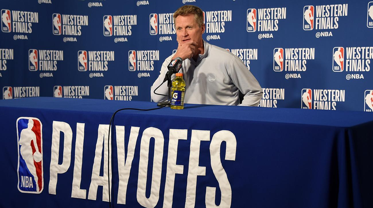 Watch: Steve Kerr Explains Not Calling a Timeout in Final