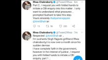 Sushant Singh Rajput's Death: Rhea Chakraborty Requests Amit Shah To Initiate CBI Enquiry