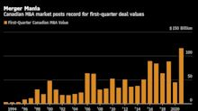 Megadeal Surge Leads Canada to Record First Quarter for M&A