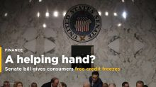 Senate gives consumers free credit freezes - but also gifts for Equifax