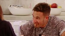 Fans confused by 'gross' way Love Island's Grant eats pasta