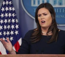 Sarah Sanders said her untruths over FBI were told in 'heat of moment'