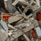 Rescuers search for nine missing in Brazil building collapse