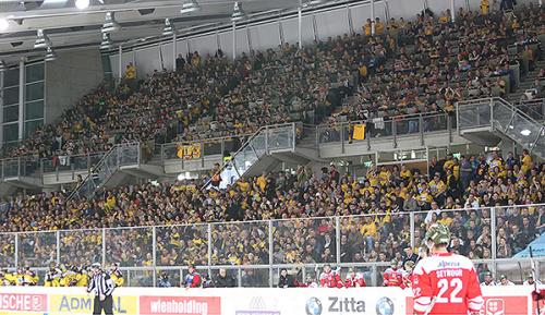 Eishockey: Capitals: Mehr Zuschauer als die Austria