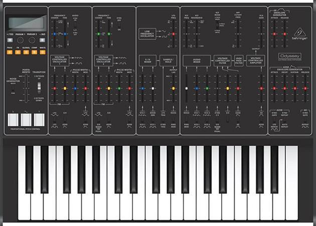 Behringer plans to revive the classic ARP Odyssey synth, too