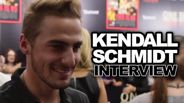 Kendall Schmidt Talks One Direction at NYC Premiere