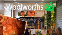 'Wrong on so many levels': Woolworths shopper finds nasty surprise in chicken meal