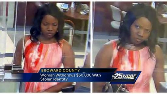 Con artist uses stolen identity to withdraw $60K from bank