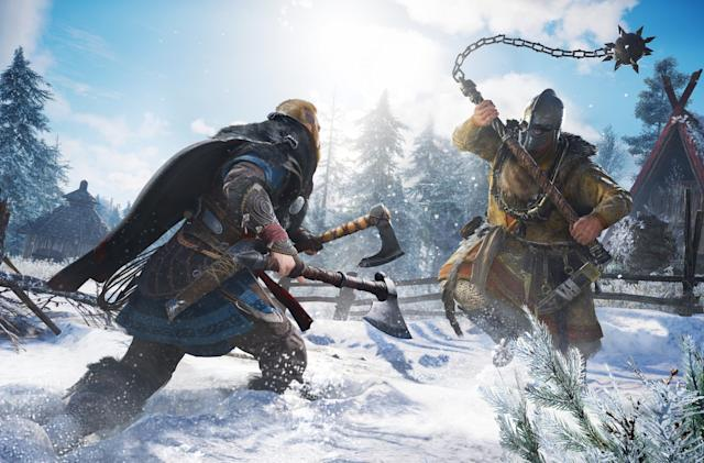 Watch seven minutes of 'Assassin's Creed Valhalla' gameplay
