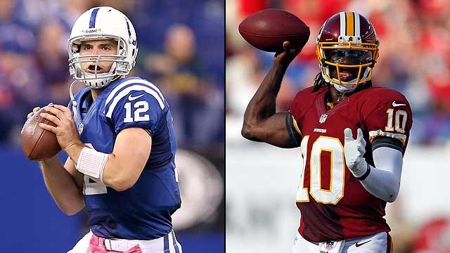 Luck more impressive than RG3?