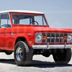 Restored 1969 Ford Bronco test vehicle set for Pebble Beach auction