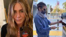 Jennifer Aniston y otras 'celebrities' que han apoyado a Joe Biden para la presidencia