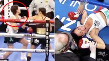 'Seriously dangerous': Fastest KO ever leaves boxing fans fuming