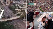 【有片】香港遊行縮時影片日本熱傳 網民震憾:「好似決堤一樣!」