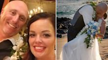 Bride paralysed in freak honeymoon accident