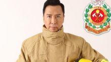 Donnie Yen serves as HK Fire Dept ambassador