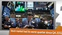 Winners and losers in first quarter markets