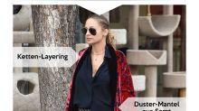 Look des Tages: Nicole Richie lässig im Duster Coat