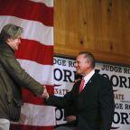 The Latest: Jones says Moore hiding in Alabama Senate race