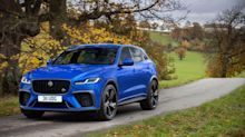 Jaguar revises high-performance F-Pace SVR
