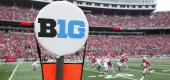 Big Ten logo. (Getty Images)