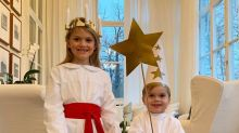 Sweden's Crown Princess Victoria Shares Adorable Photos of Her Children Celebrating St. Lucia Day