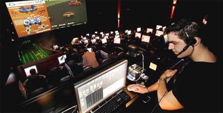 Cinegames theaters: screw the movies, let's play games