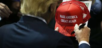 Trump's 'Make America Great Again' hats sold through Canadian company
