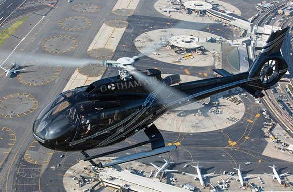 Gotham Air is the helicopter taxi you can order from your smartphone