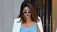 Priyanka Chopra​​ Wore an Amazing Date-Night Dress