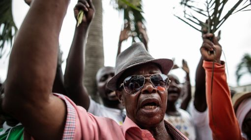 Gabon braces for results of tense election
