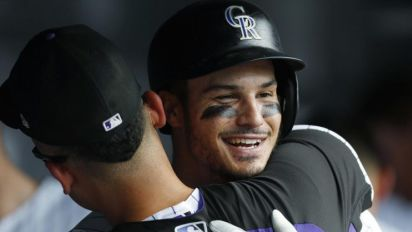 Arenado's three-homer game wasn't on TV