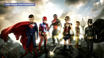 Photographer turns kids with disabilities, diseases into superheroes