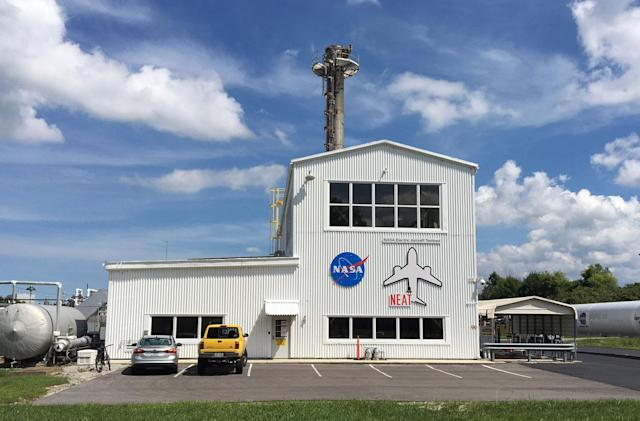 NASA unveils a new testbed for electric aircraft