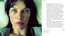 Milla Jovovich Opens Up About Emergency Abortion, Tells Fans To Fight For Safe Ones