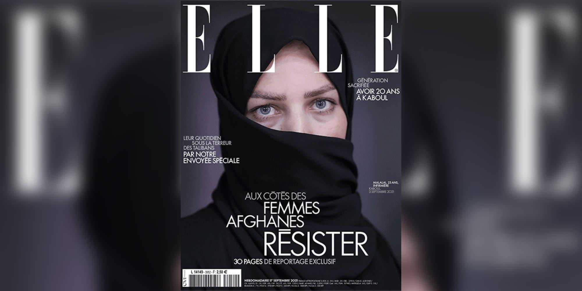 """""""Elle"""" : un numéro sur l'Afghanistan en rupture de stock dès son premier jour"""