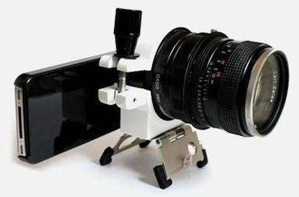 Adding a Carl Zeiss SLR lens to your iPhone 4