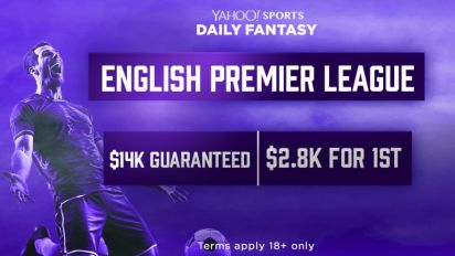 Play Yahoo DFS soccer's $14K contest Saturday