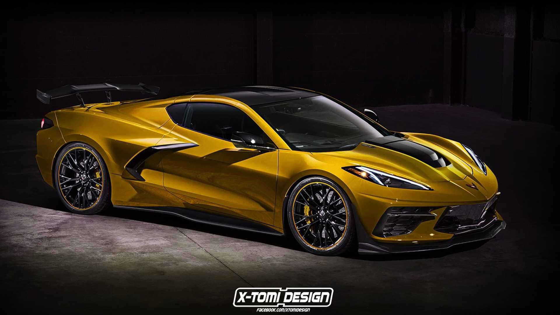 New Corvette Stingray >> 2020 Corvette Stingray Already Gets Zr1 Treatment In New