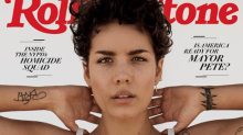 Halsey's Rolling Stone cover has people talking about her unshaved armpits, natural hair