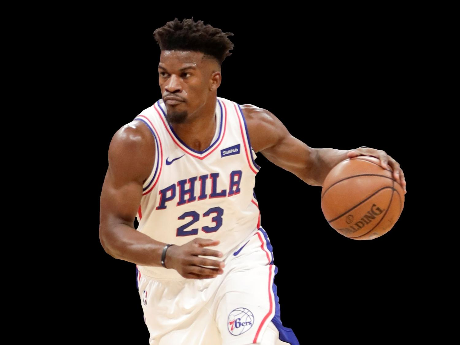 Jimmy Butler takes shot after home debut with 76ers c20d4f9c7